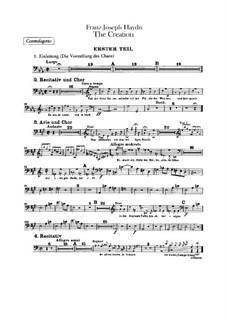 Die Schöpfung, Hob.XXI/2: Kontrafagottstimme by Joseph Haydn