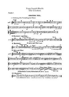 Die Schöpfung, Hob.XXI/2: Trompetenstimmen by Joseph Haydn