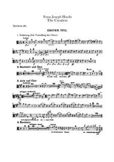 Die Schöpfung, Hob.XXI/2: Posaunenstimmen by Joseph Haydn