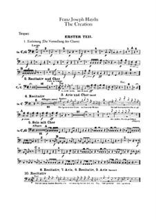 Die Schöpfung, Hob.XXI/2: Paukenstimme by Joseph Haydn