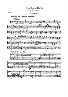 Die Schöpfung, Hob.XXI/2: Violastimme by Joseph Haydn