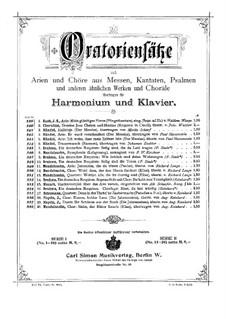 Die Jahreszeiten, Hob.XXI/3: Komm, holder Lenz, für Harmonium und Klavier by Joseph Haydn