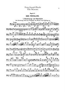 Die Jahreszeiten, Hob.XXI/3: Fagottstimme by Joseph Haydn