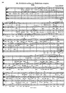 Fröhlich wollen wir Halleluia singen: Fröhlich wollen wir Halleluia singen by Lupus Hellinck