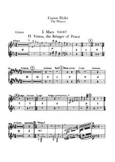 Vollständige Suite: Celestastimme by Gustav Holst