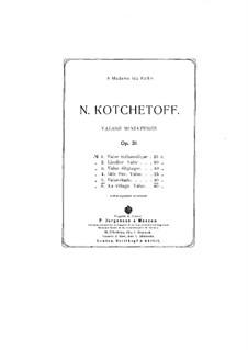 Valses miniatures, Op.31: No.5 Valse-Etude by Nikolai Kotschetow