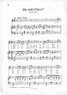 Drei Lieder, Op.25: Drei Lieder by Thomas Koschat