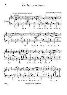 Marche Humoresque, Op.362: Für Klavier by Reginald De Koven