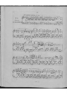 Huit nocturnes romantiques de différents caractères, Op.604: Nr.5 Die Entschuldigung by Carl Czerny