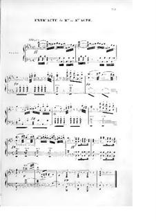 Le val d'Andorre: Akt III, für Solisten, Chor und Klavier by Fromental Halevy