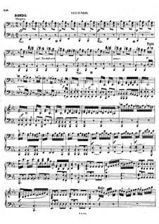 Fragmente: Teil III. Version für Klavier, vierhändig by Ludwig van Beethoven