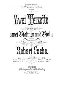 Streichtrio in E-Dur, Op.61: Vollpartitur by Robert Fuchs
