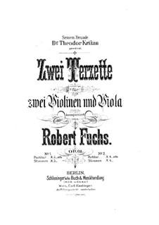 Streichtrio in E-Dur, Op.61: Stimmen by Robert Fuchs