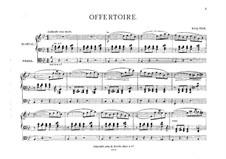Offertorium für Orgel: Offertorium für Orgel by King Hall