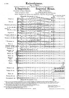 Kaiserhymne, H.129 Op.26: Kaiserhymne by Hector Berlioz