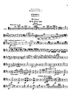 Grosse Totenmesse (oder Requiem), H.75 Op.5: Posaunen- und Tubenstimmen by Hector Berlioz