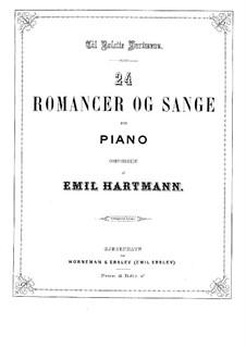 Romanzen und Lieder: Romanzen und Lieder by Emil Hartmann