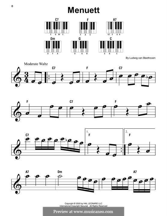 Menuett: Menuett by Ludwig van Beethoven