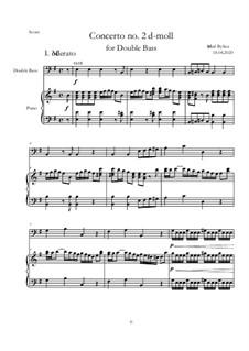 Concerto No.2 e-moll: Concerto No.2 e-moll by Michał Bylina