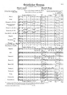 Irländische Lieder. Geistlicher Gesang, H.44 Op.2b No.6: Irländische Lieder. Geistlicher Gesang by Hector Berlioz