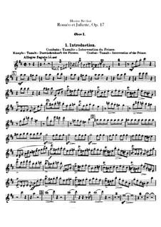 Romeo und Julie, H.79 Op.17: Oboen- und Englischhornstimmen by Hector Berlioz