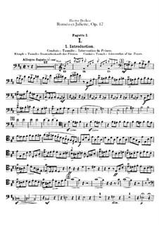 Romeo und Julie, H.79 Op.17: Fagottstimme by Hector Berlioz