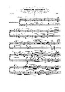 Klavierkonzert Nr.5 in f-Moll, Op.180: Klavierkonzert Nr.5 in f-Moll by Henri Herz