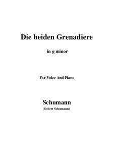 Romanzen und Balladen, Op.49: No.1 Two Grenadiers (g minor) by Robert Schumann