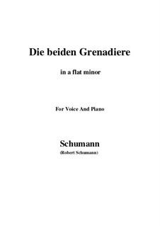 Romanzen und Balladen, Op.49: No.1 Two Grenadiers (a flat minor) by Robert Schumann