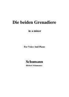 Romanzen und Balladen, Op.49: No.1 Two Grenadiers (a minor) by Robert Schumann