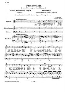 Freundschaft, H.10: Freundschaft by Hector Berlioz