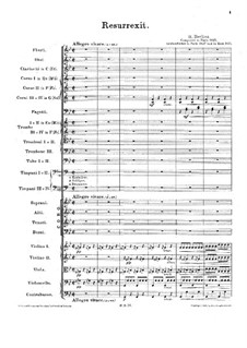 Messe solennelle, H.20: Resurrexit by Hector Berlioz