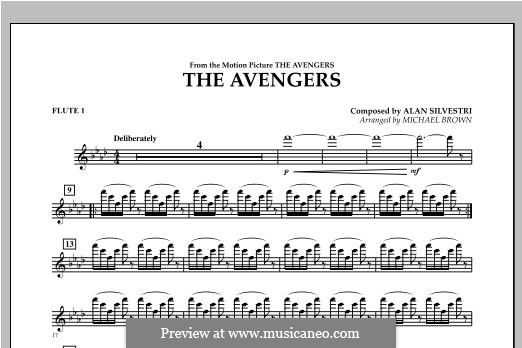 The Avengers: Flute 1 part by Alan Silvestri