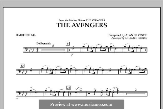 The Avengers: Baritone B.C. part by Alan Silvestri