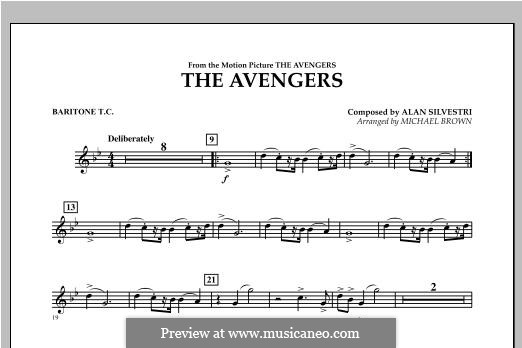 The Avengers: Baritone T.C. part by Alan Silvestri