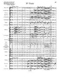 Sinfonie Nr.7 in d-Moll 'Schweizerische': Teil IV by Hans Huber