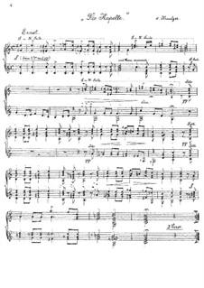 Zwei Chöre: Nr.2 Die Kapelle, für zwei Gitarren by Konradin Kreutzer