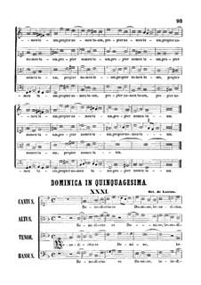 Benedictus es Domine: Benedictus es Domine by Orlando di Lasso