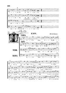 Tibi laus, tibi gloria: Tibi laus, tibi gloria by Orlando di Lasso