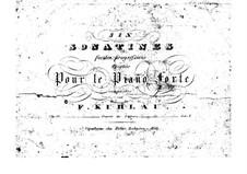 Sechs Sonatinen, Op.55: Vollsammlung by Friedrich Kuhlau