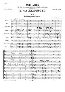 Prüfung des Küssens, WoO 89: Prüfung des Küssens by Ludwig van Beethoven