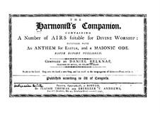 The Harmonist's Companion: The Harmonist's Companion by Daniel Belknap
