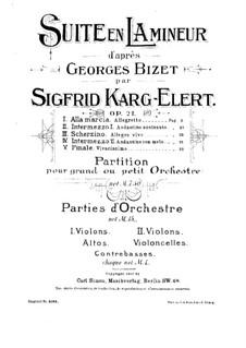 Suite in a-Moll nach 'Jeux d'enfants' von G. Bizet: Suite in a-Moll nach 'Jeux d'enfants' von G. Bizet by Sigfrid Karg-Elert