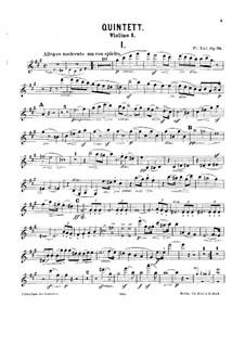 Klavierquintett Nr.1, Op.75: Vollpartitur, Stimmen by Friedrich Kiel