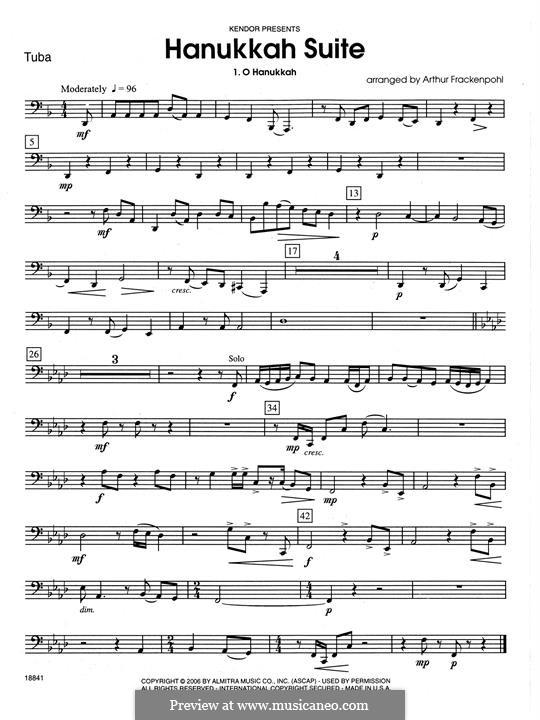 Hanukkah Suite: Tubastimme by folklore
