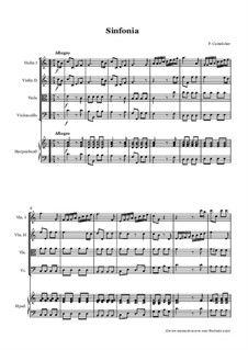 Sinfonia in C for String Orchestra: Sinfonia in C for String Orchestra by Placidus von Camerloher