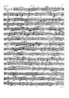 Drei Streichtrios, Op.6: Violastimme by Camillo Barni