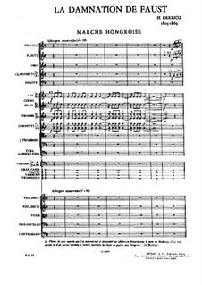 Fausts Verdammung, H.111 Op.24: Fragmente by Hector Berlioz