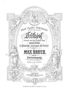 Frithjof, Op.23: Frithjof by Max Bruch