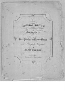 Vier dänischen Lieder für Stimme und Klavier: Vollsammlung by Niels Wilhelm Gade